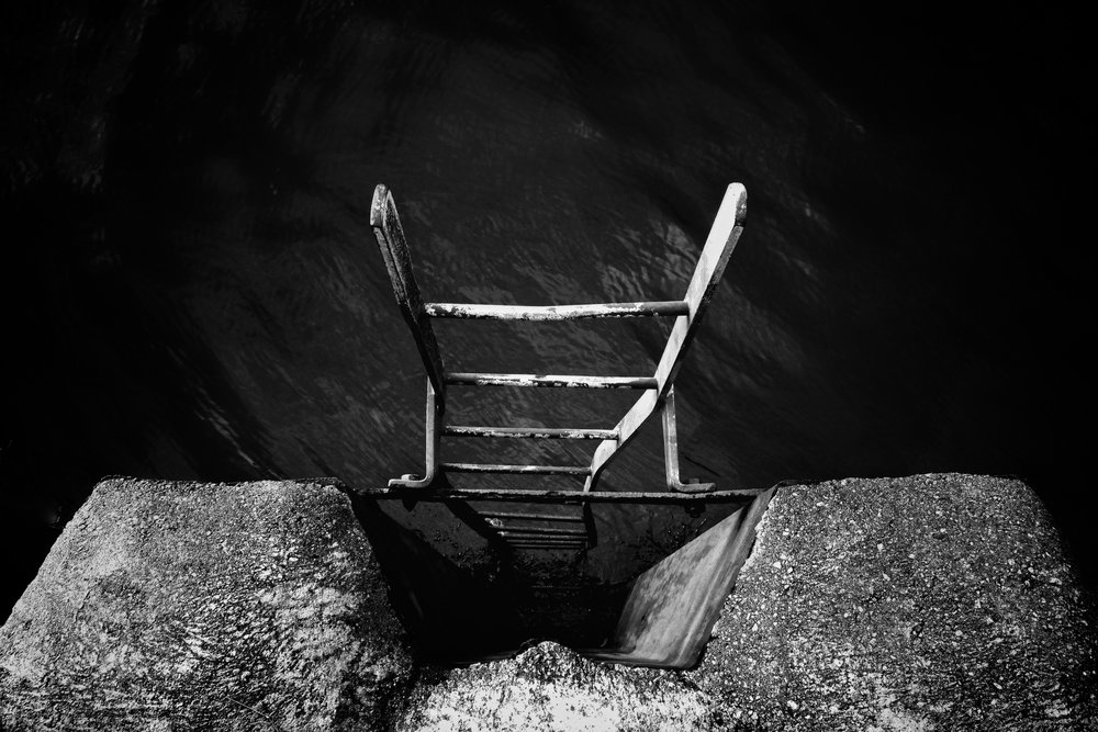 Black and White works beautifully looking down at the twisting ladder of the loch in Fort William.