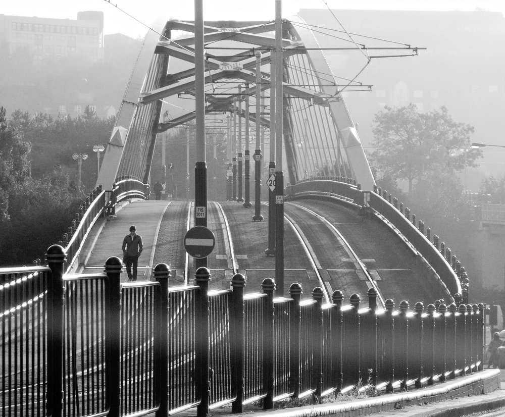 Alone on the Bridge