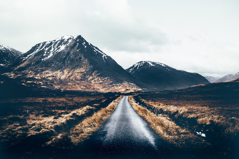 The Road To Glen Etive