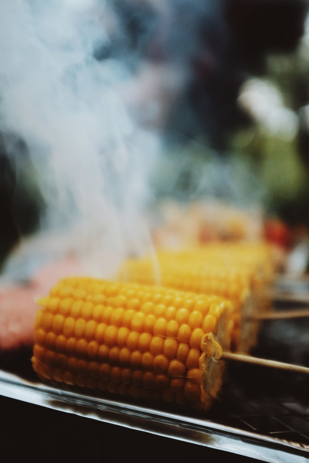 Sweetcorn on the BBQ