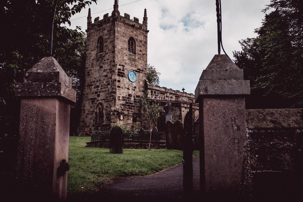 The Church at Eyam