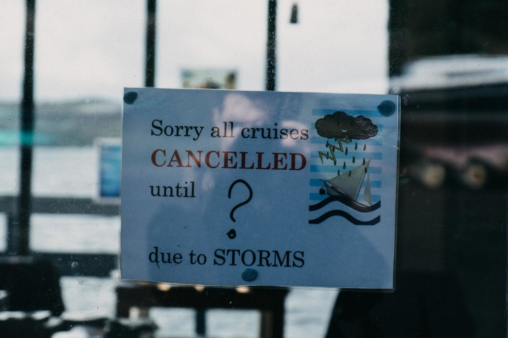 Gairloch Cruises Cancelled