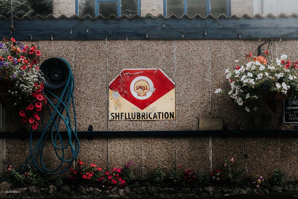 Shellubrication