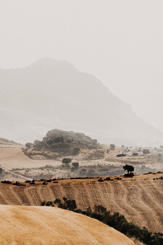 Hazy Mountains of Malaga