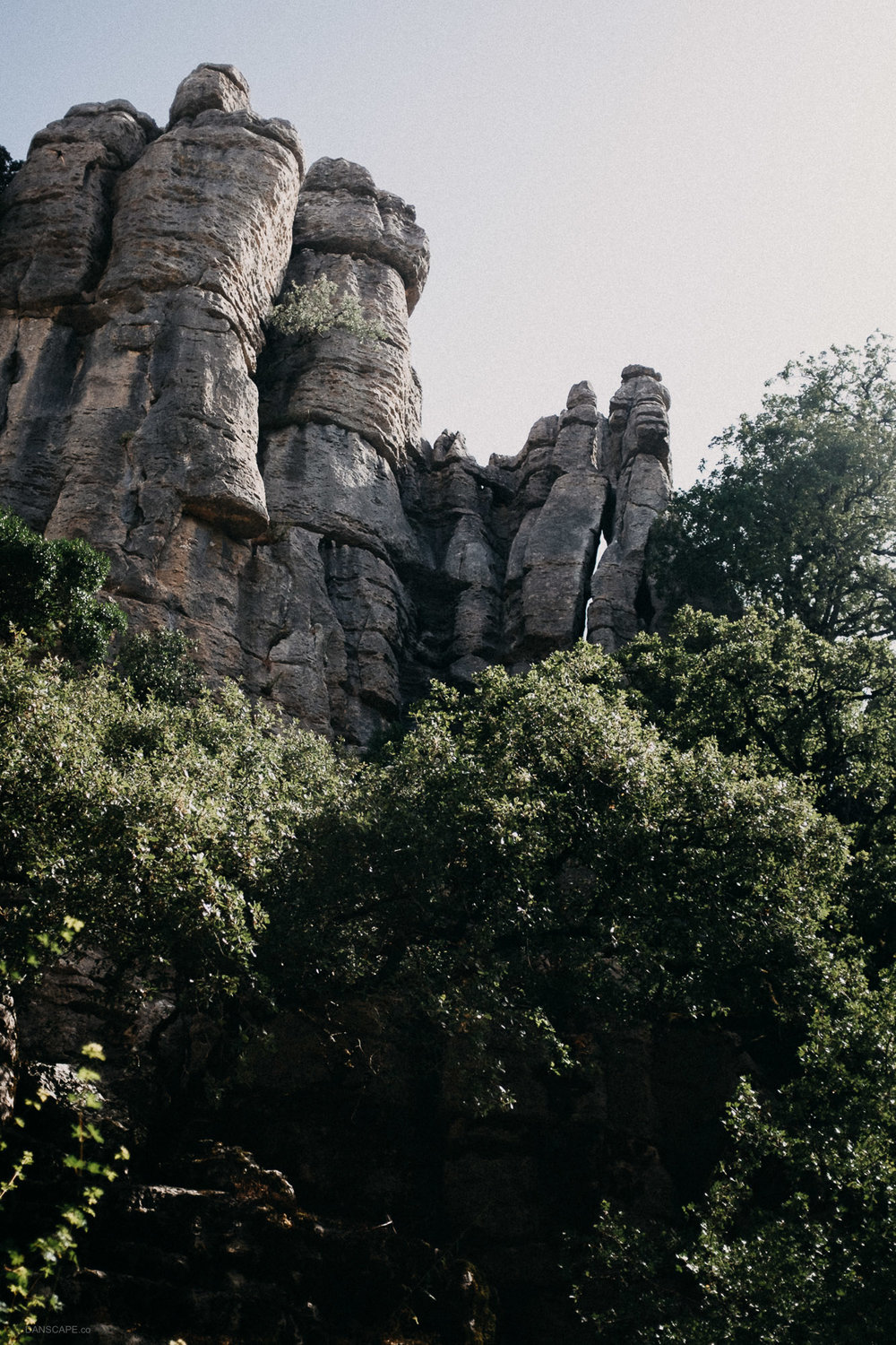 Tall Towers of Limestone at El Torcal