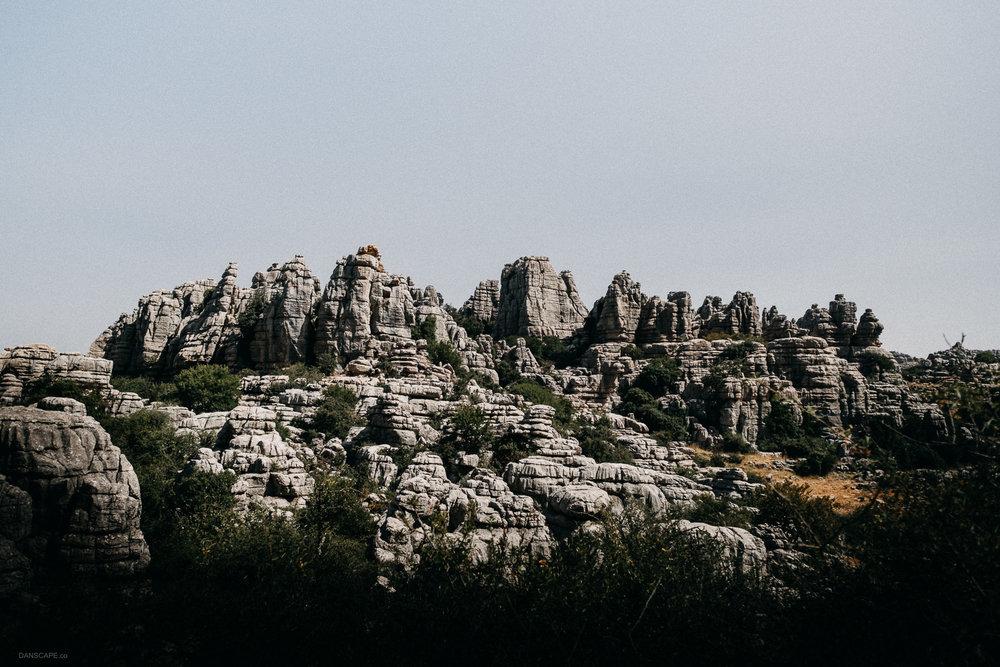 Limestone Lineup of El Tocal