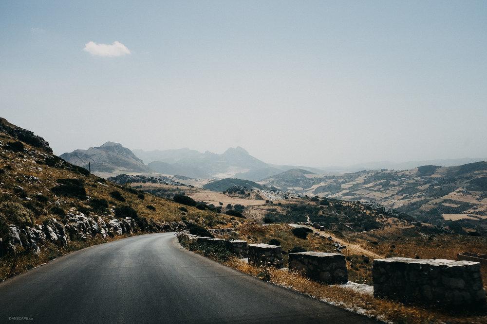 Leaving El Torcal