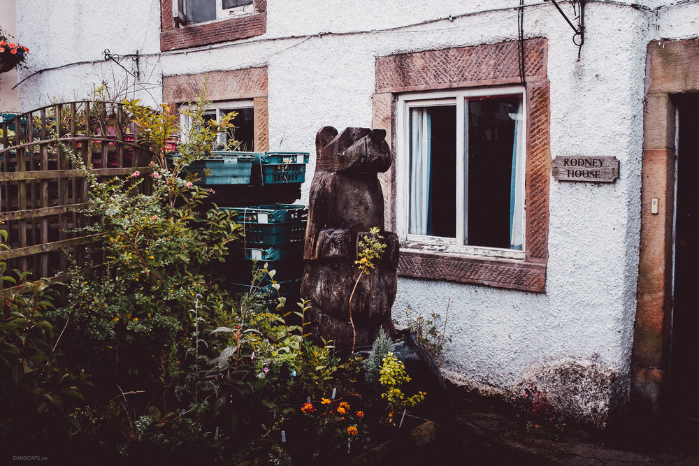 Wooden Bear at Rodney House