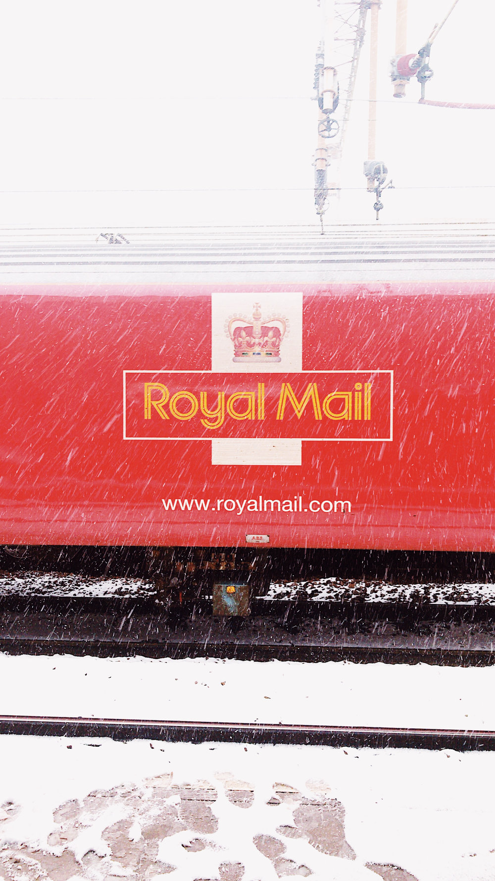 Royal Mail Train at Northampton
