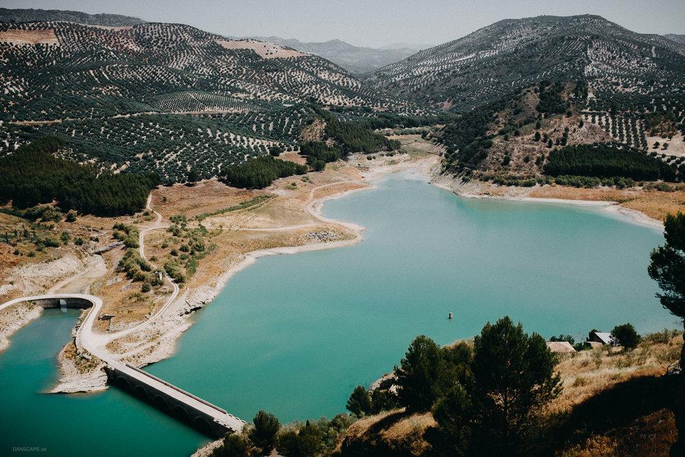 Iznájar Reservoir