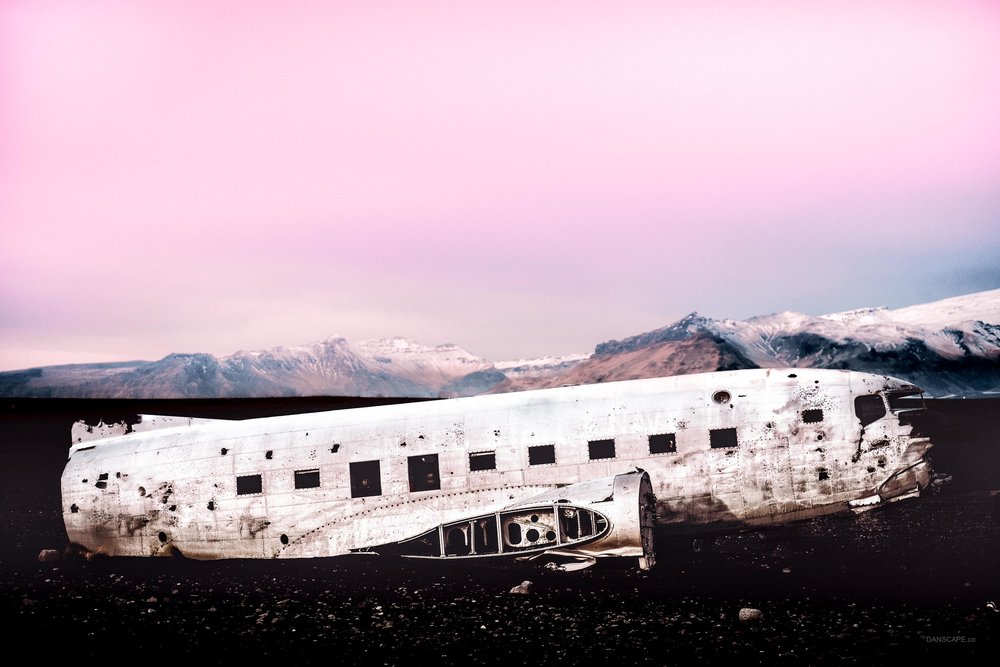 The Plane Crash Site at Solheimasandur, Iceland