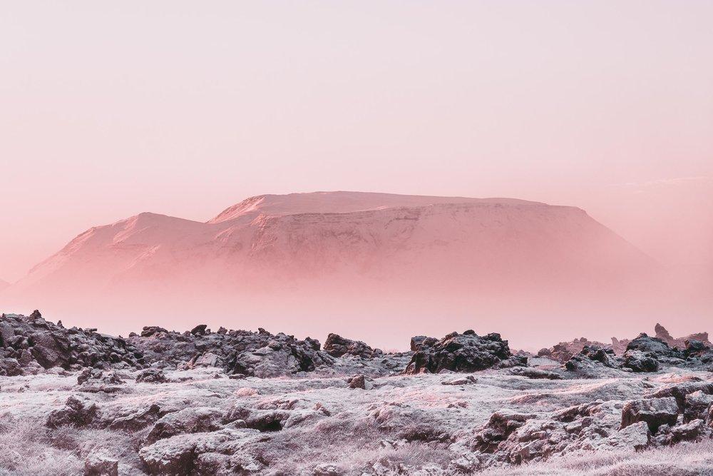 Volcano Horizon Iceland