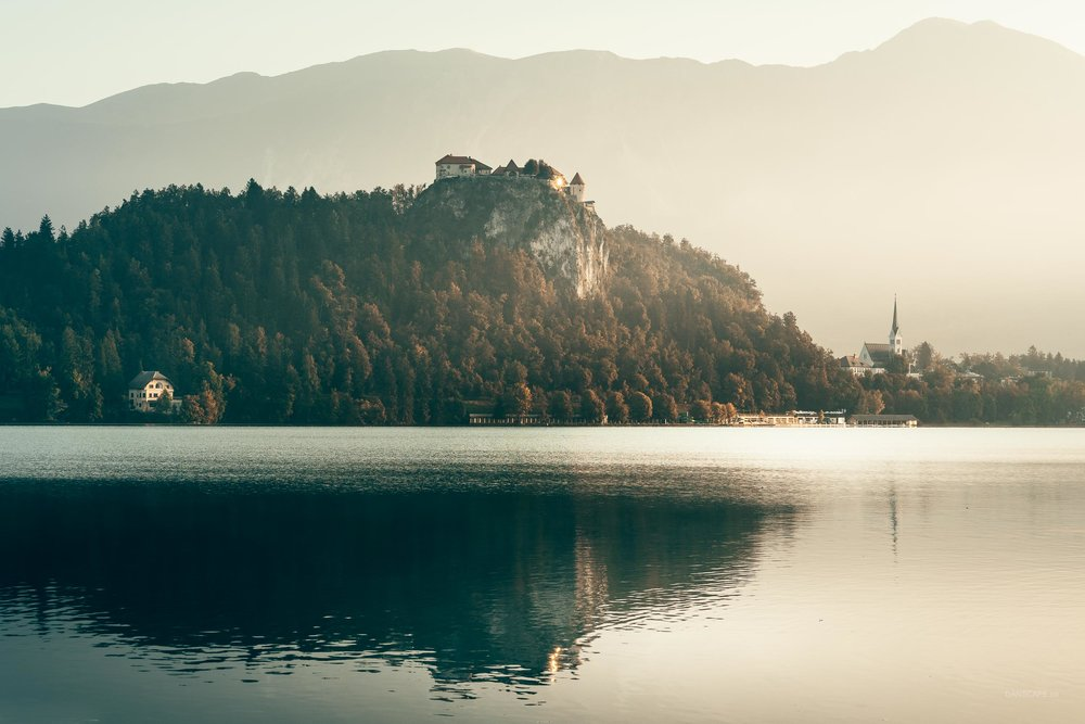 Blinded by Bled Castle