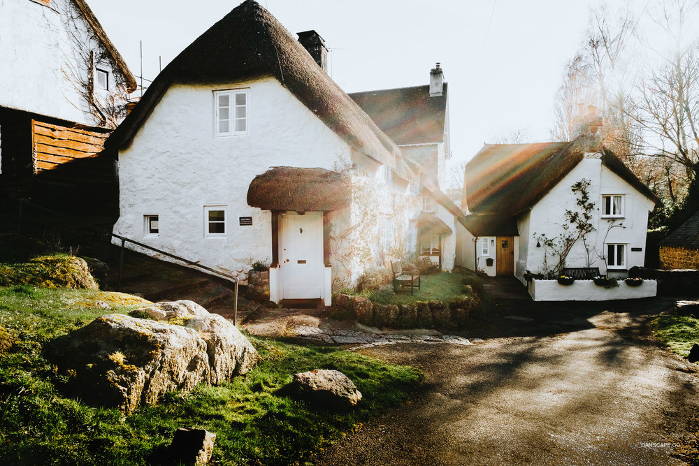 The Village of Lustleigh