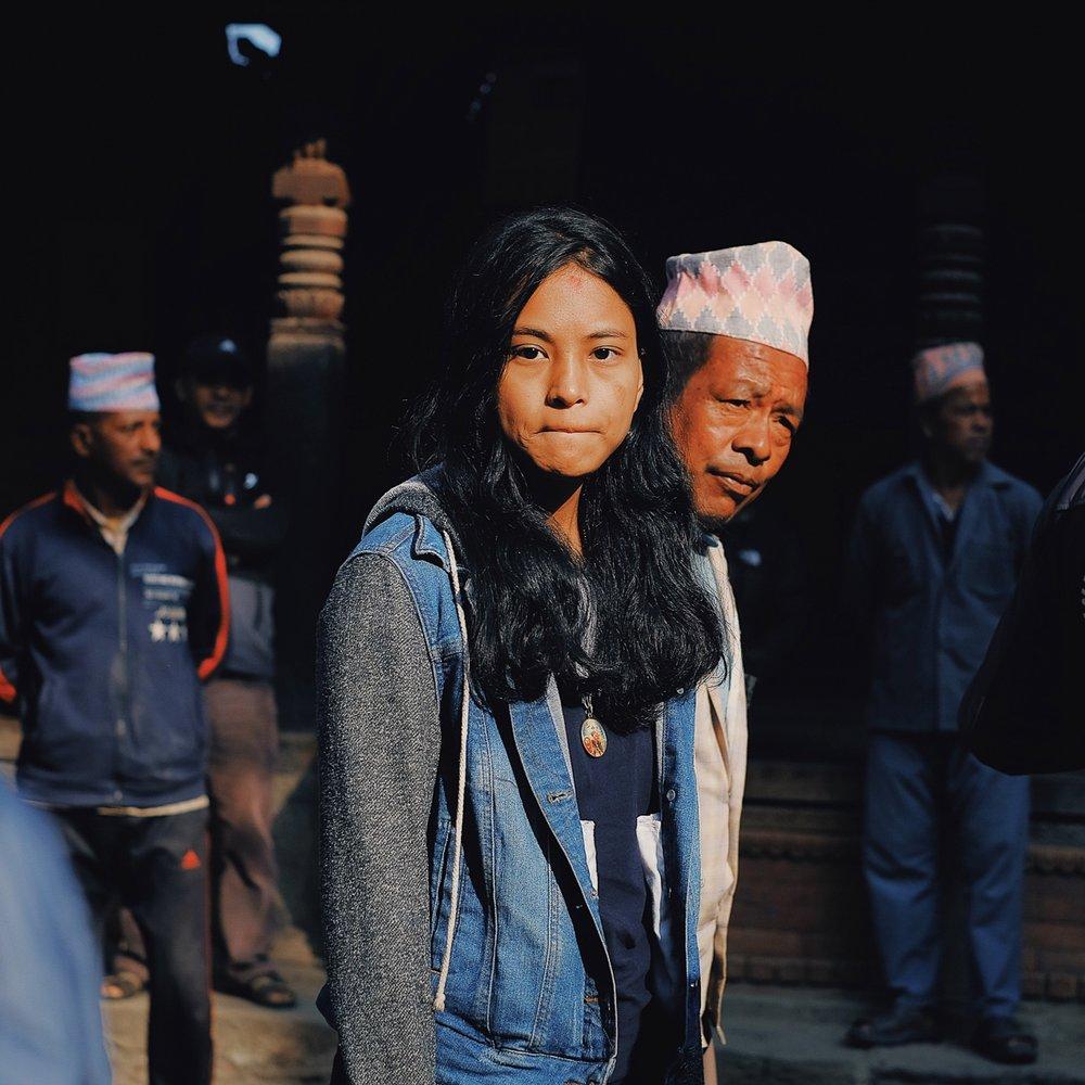gorvardhan puja in bhaktapur - November 2018