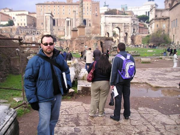 Scouting in Rome, Italy. 2007