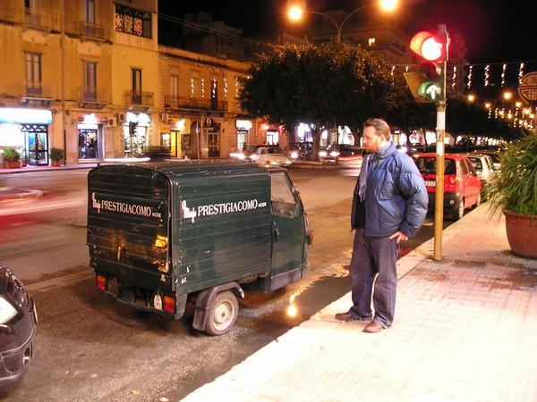 "Delivery ""van"" somewhere in Southern Italy, 2007"