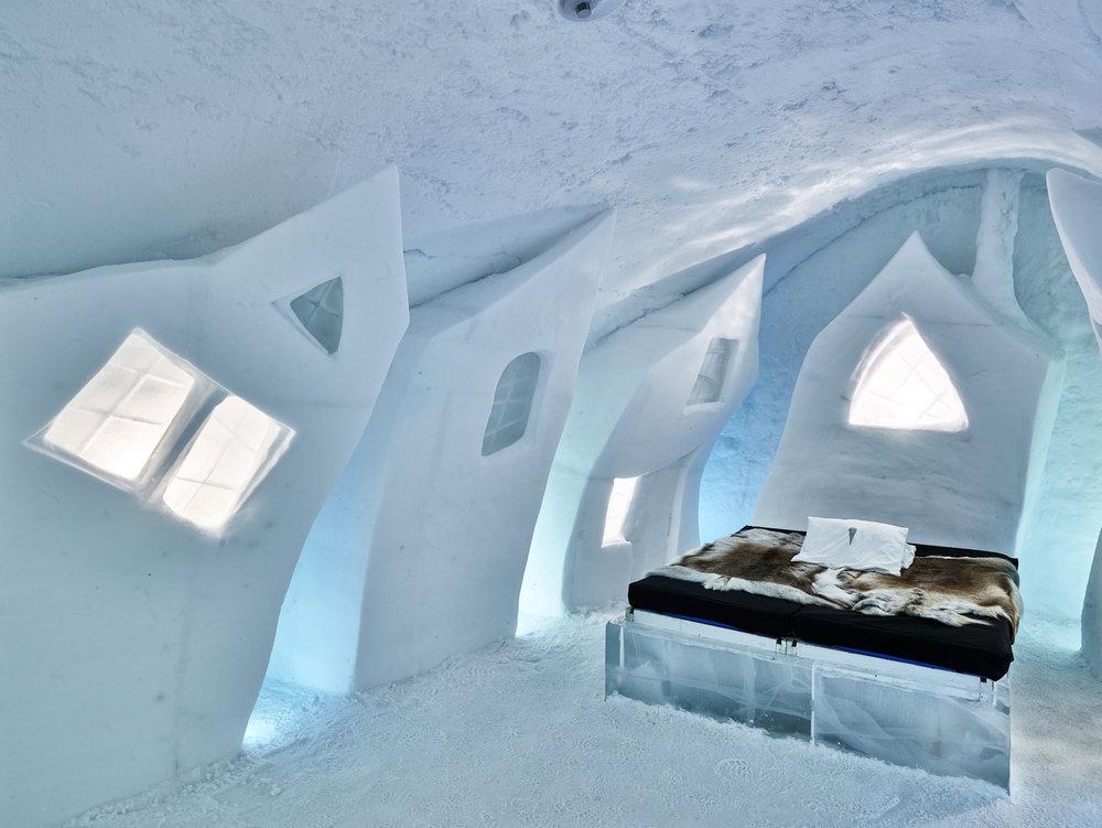 Icehotel in Jukkasjärvi - Photo: Hans Olof Utsi / imagebank.sweden.se