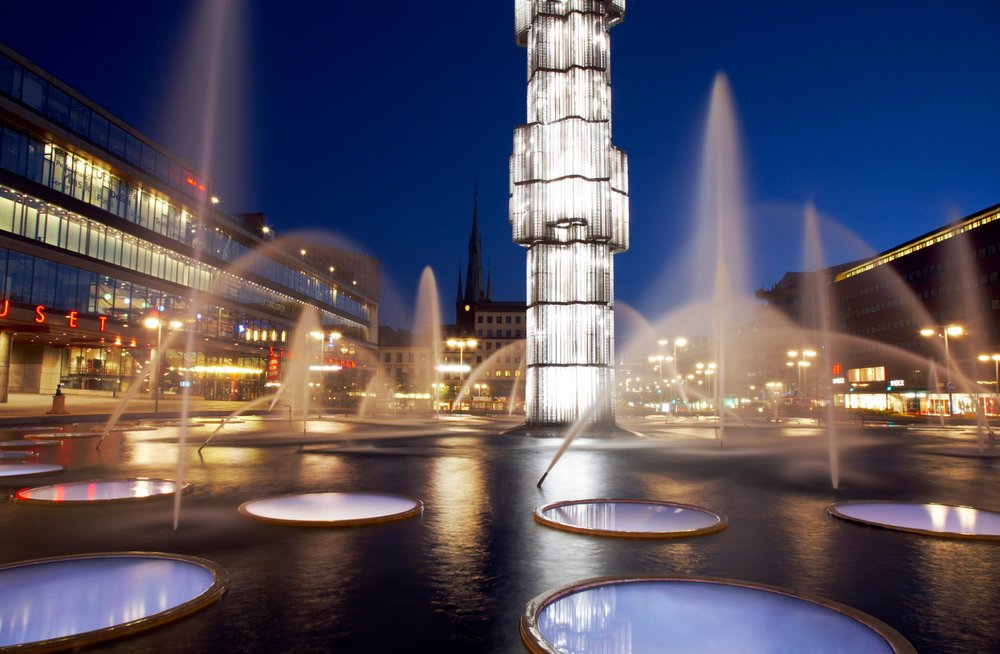 Sergels torg, Stockholm Credits:Ola Ericson/imagebank.sweden.se