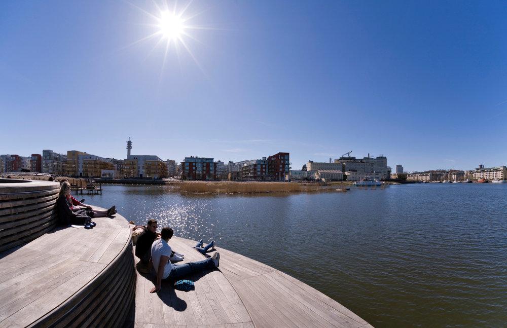 Hammarby sjöstad Credits: Ola Ericson/imagebank.sweden.se