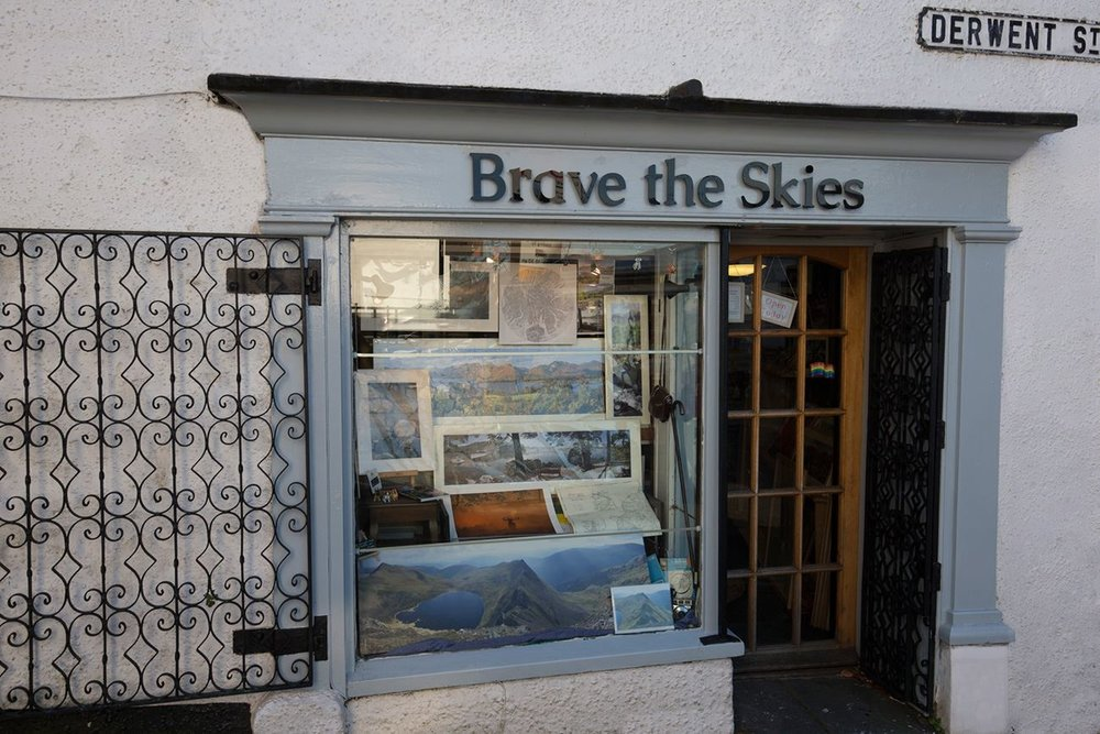 The shop in it's current form as Brave the Skies