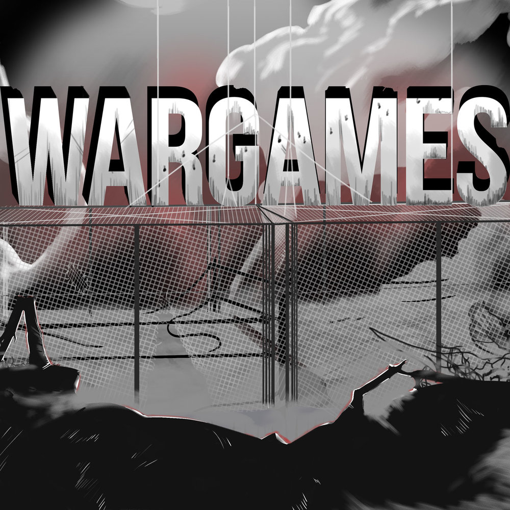 War Games steel cage match pro wrestling
