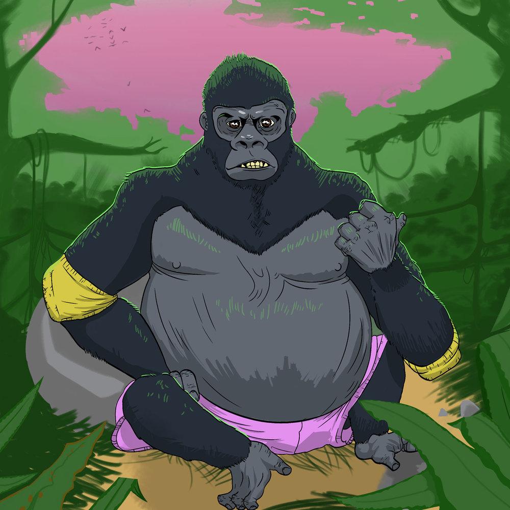 Pro Wrestling Guerrilla episode artwork gorilla How2Wrestling