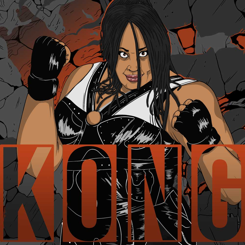Awesome Kong Kharma pro wrestler episode artwork How2Wrestling