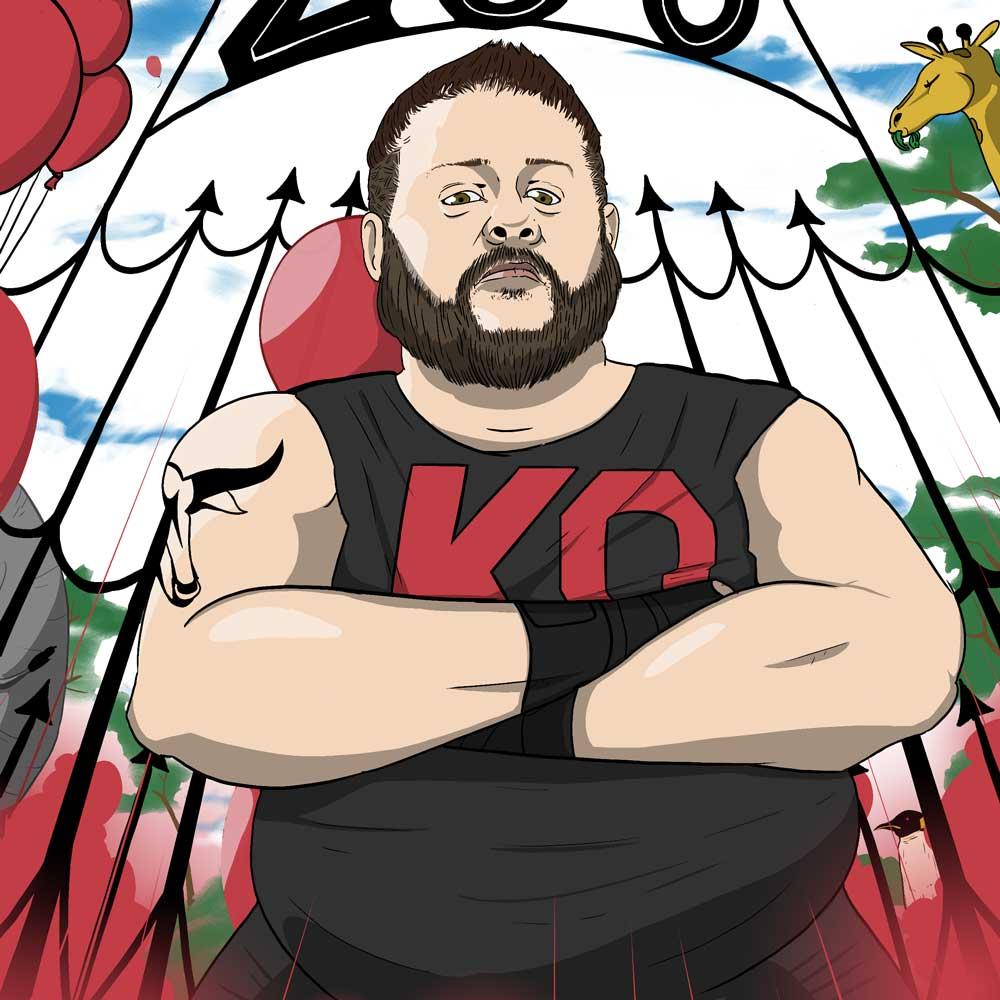 Kevin Owens pro wrestler WWE zoo