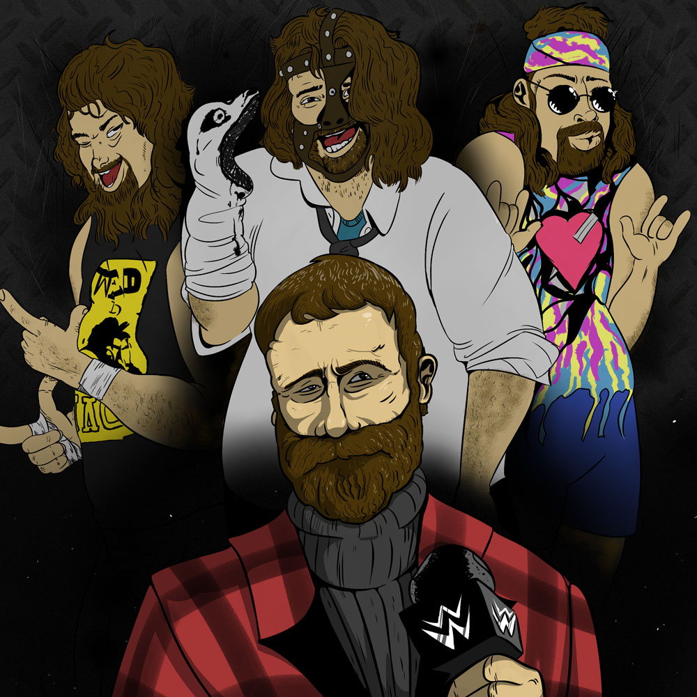 Mick Foley Mankind Dude Love Cactus Jack How2Wrestling