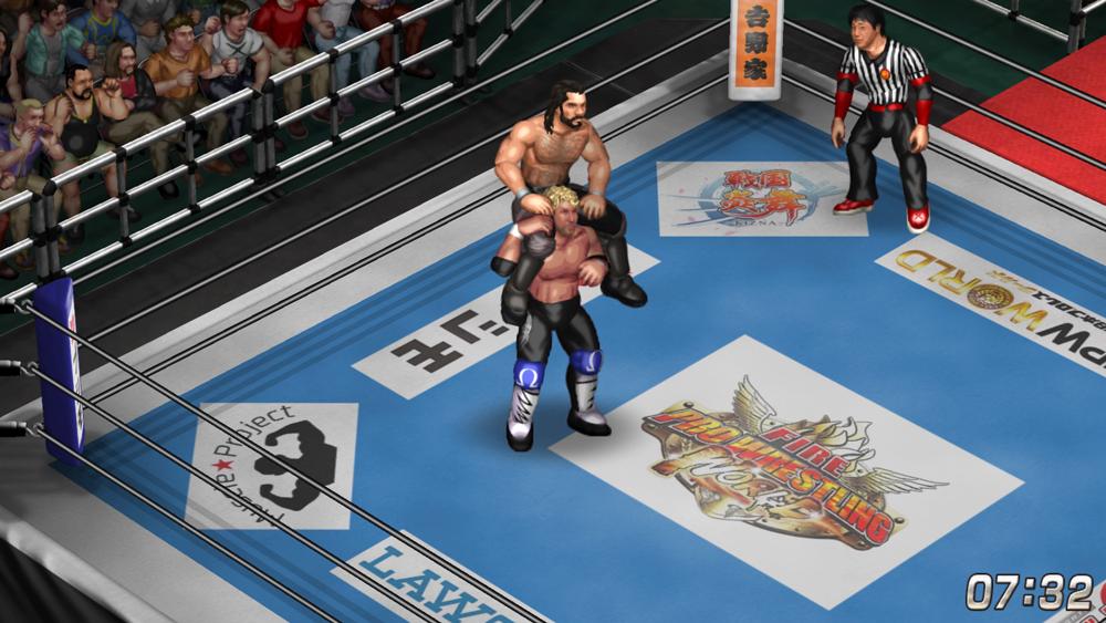 In-game Kenny Omega vs Custom Seth Rollins