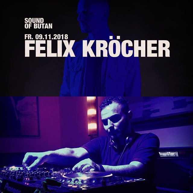 Wow...😃 Just got a booking for The Last Dance before the final closing at the legendary Butan Club tonight.  Im very honored to get this booking, and not just that Felix Kröcher will be Headliner for the Night! Don't miss this gig!🍾 💥🖤😎💥. Get them Sneakers 👟 on and ready to burn 🔥  Im playing on the Brauherr floor to get this night cooking!🤞🖤🔥