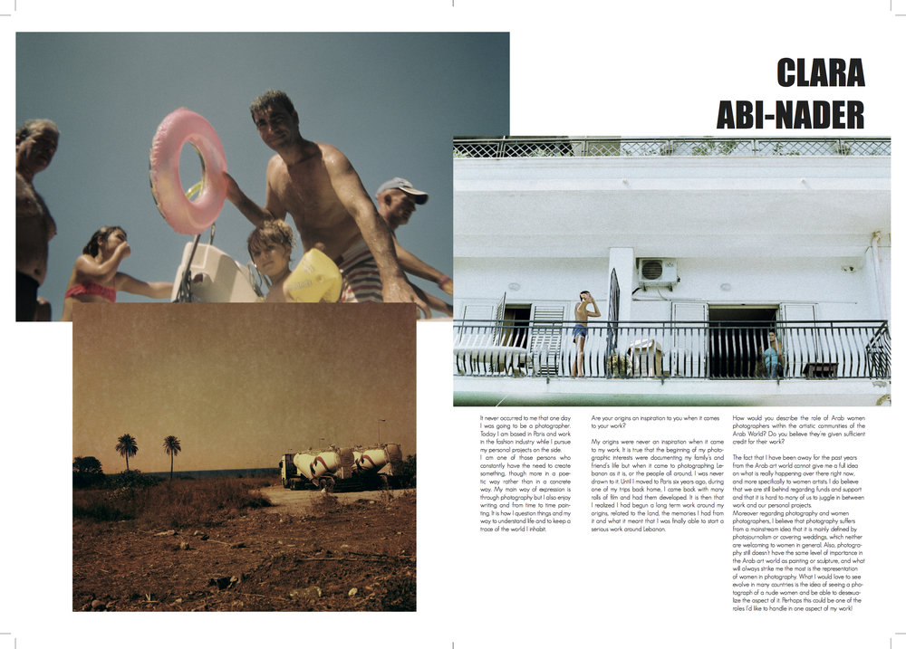Clara Abi Nader Interview Jdeed Magazine