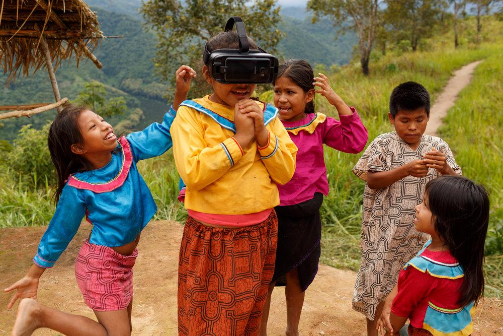 Primeiro contato com Realidade Virtual