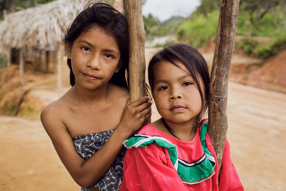 Crianças Shipibos