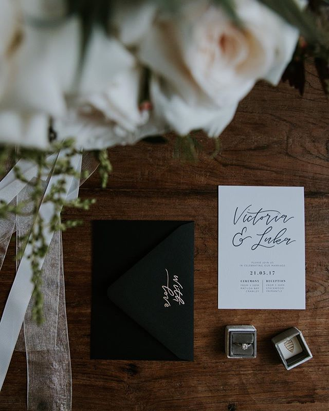Stunning invites by @paigetuzee_designs 📝 _______________________________________________ TEAM DETAILS Photographer: @samanthasimonepereira Coordination and Styling: @brankat Blooms: @rose.and.bud Dress: @sairkellydesigns Makeup: @taylahjacksonmua Hair: @chevellhaleyhair Tableware: @alatablerentals Hire furniture: @heart_strings_hire_n_style Lighting: @festoonlightingperth Cake: @thecakeandi Stationary: @paigetuzee_designs Model: @zara.holman