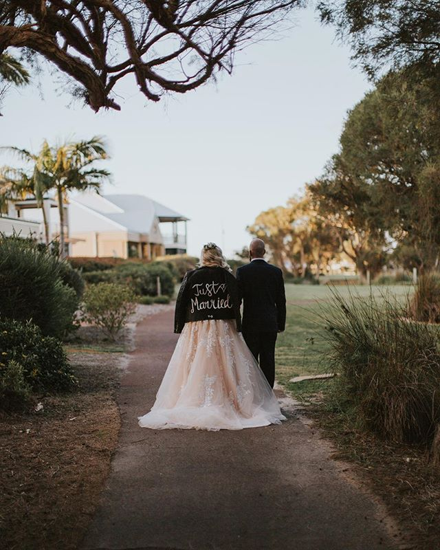 "Those ""just married"" feels✨♥️ _______________________________________________ .