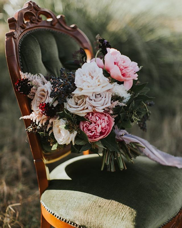 Dreaming about this warm golden afternoon and these beautiful blooms by @theblackposy 😍🥀💔 Photography @samanthasimonepereira  Makeup @cat_elizabeth_artistry  Hair @charlottepownall.hair  Model @_remlane Robes @ivyandmatilda  Furniture @little_miss_vintage_  Ribbon @lines_and_squares .