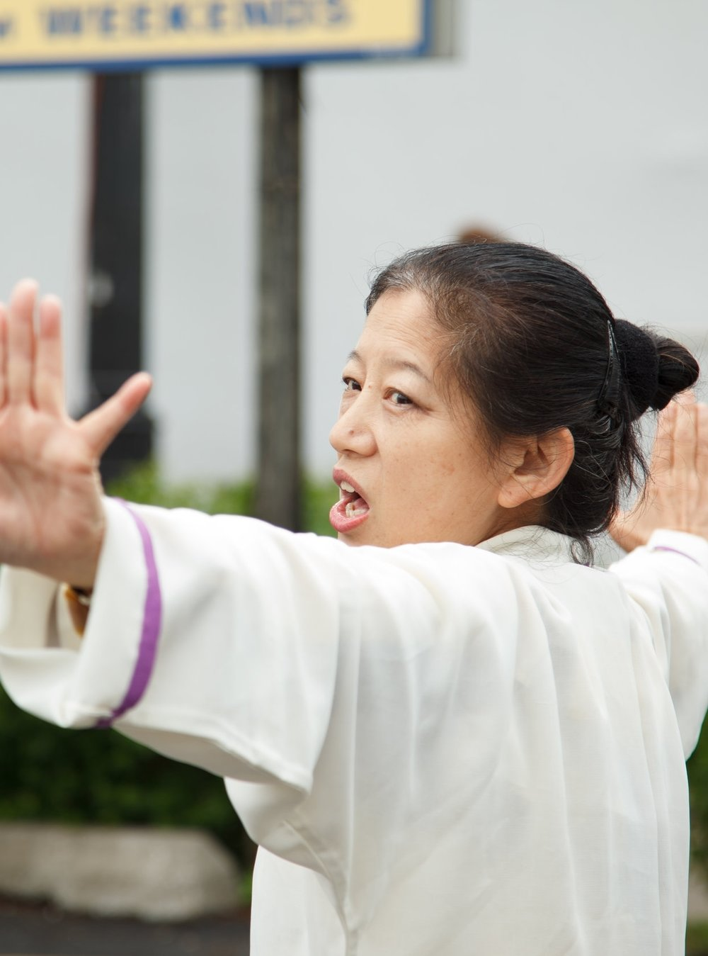 Traditional Chinese Culture Instructor, Dong Chen