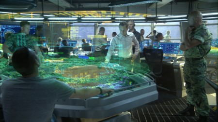 Holotable interface from the movie Avatar