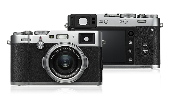 X100F (picture courtesy of Fujifilm)