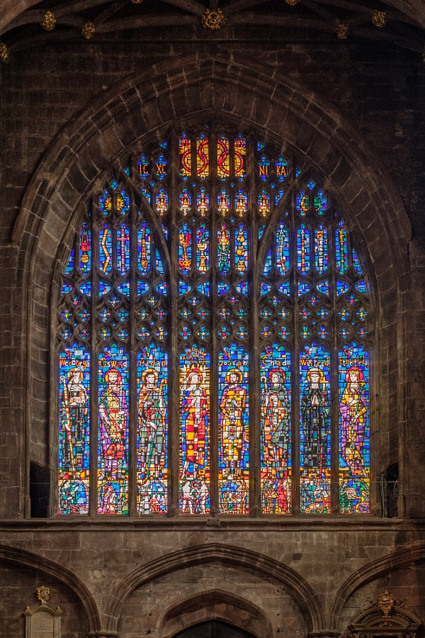 Chester Cathedral Window