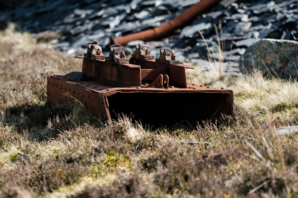 Dinorwic Slate Quarry (X-T2 XF90mm at F2)