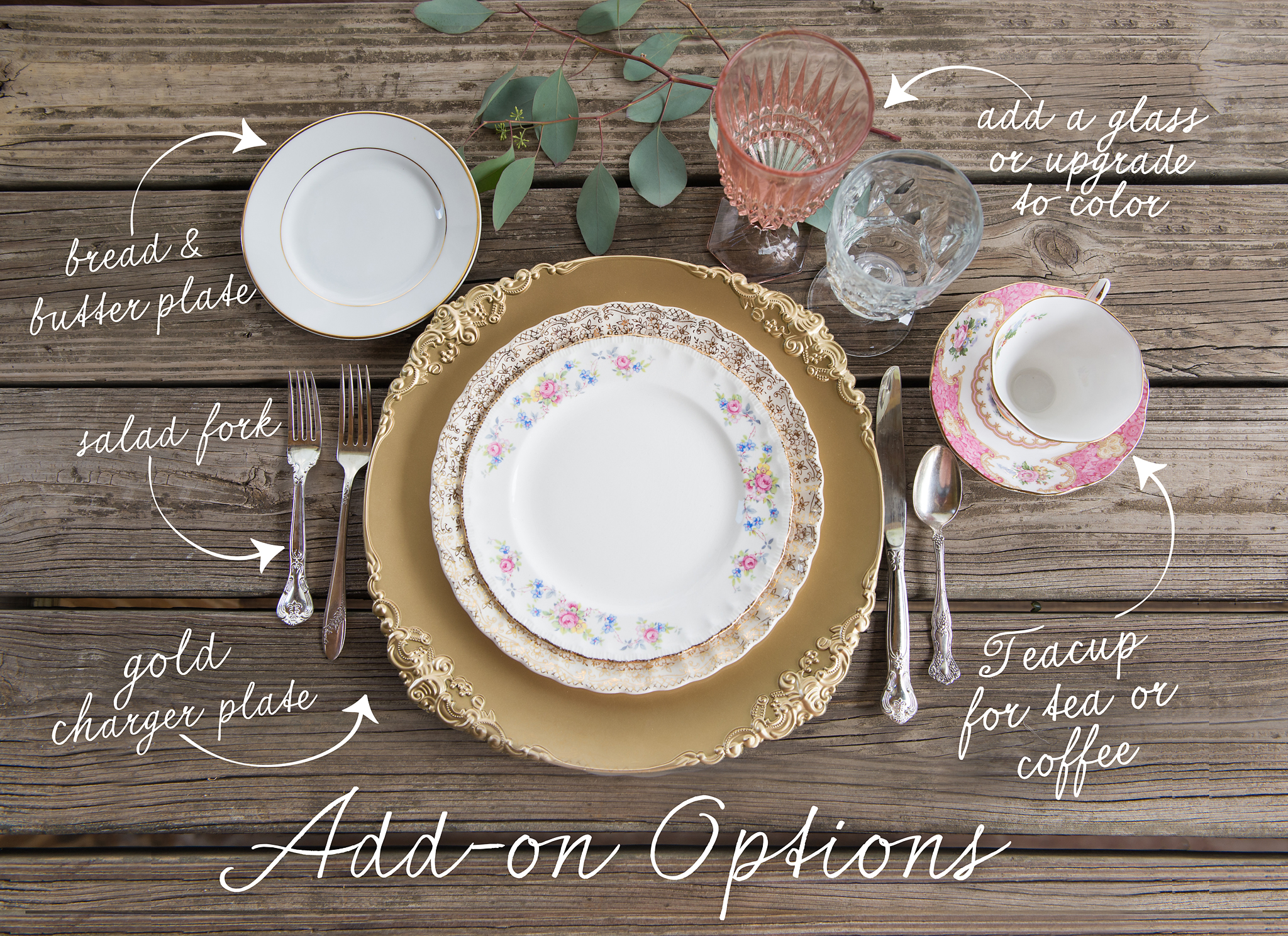 Wedding Vintage China Rentals Tampa Florida