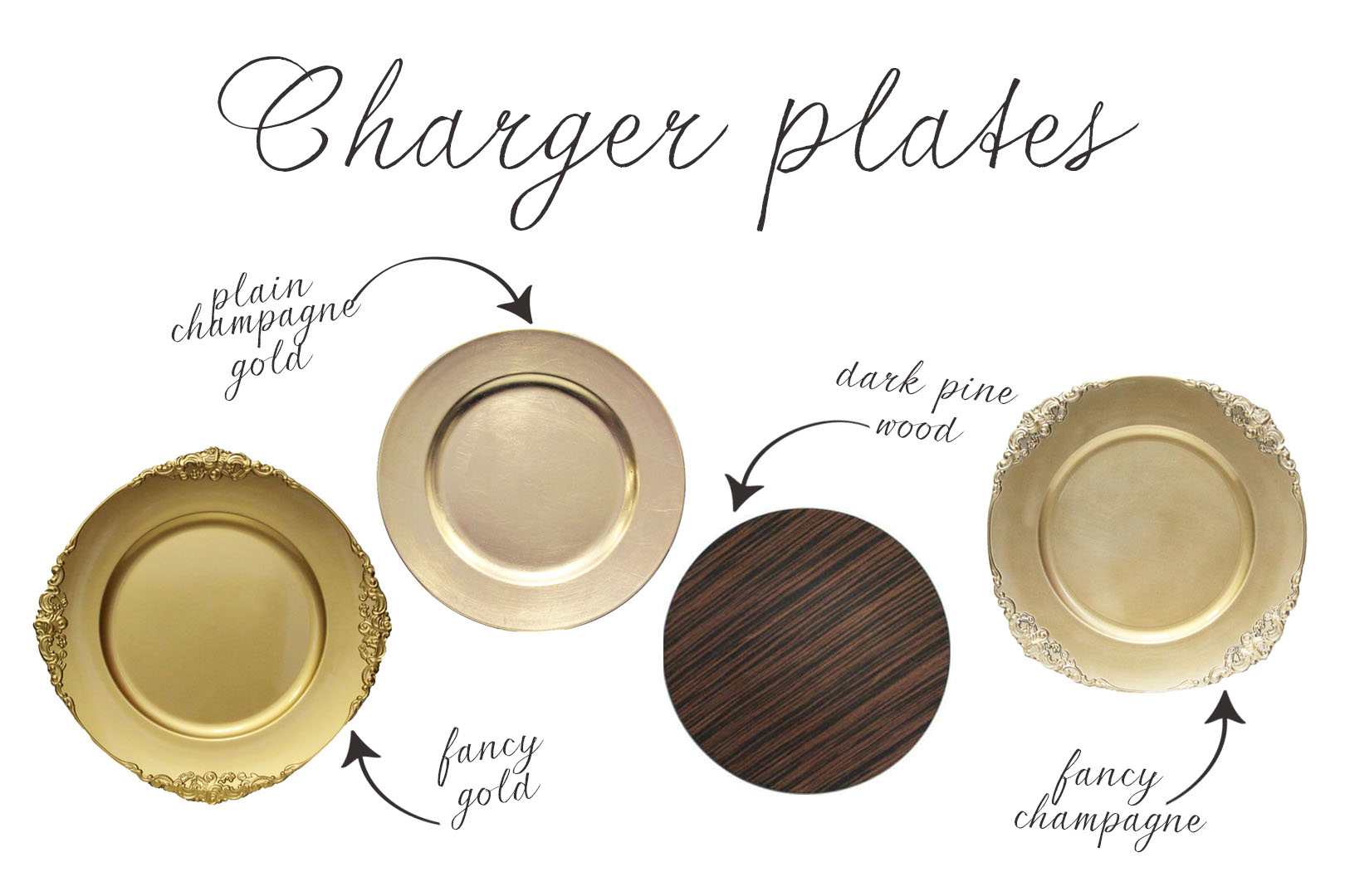 Wood Chargers Tampa Rentals