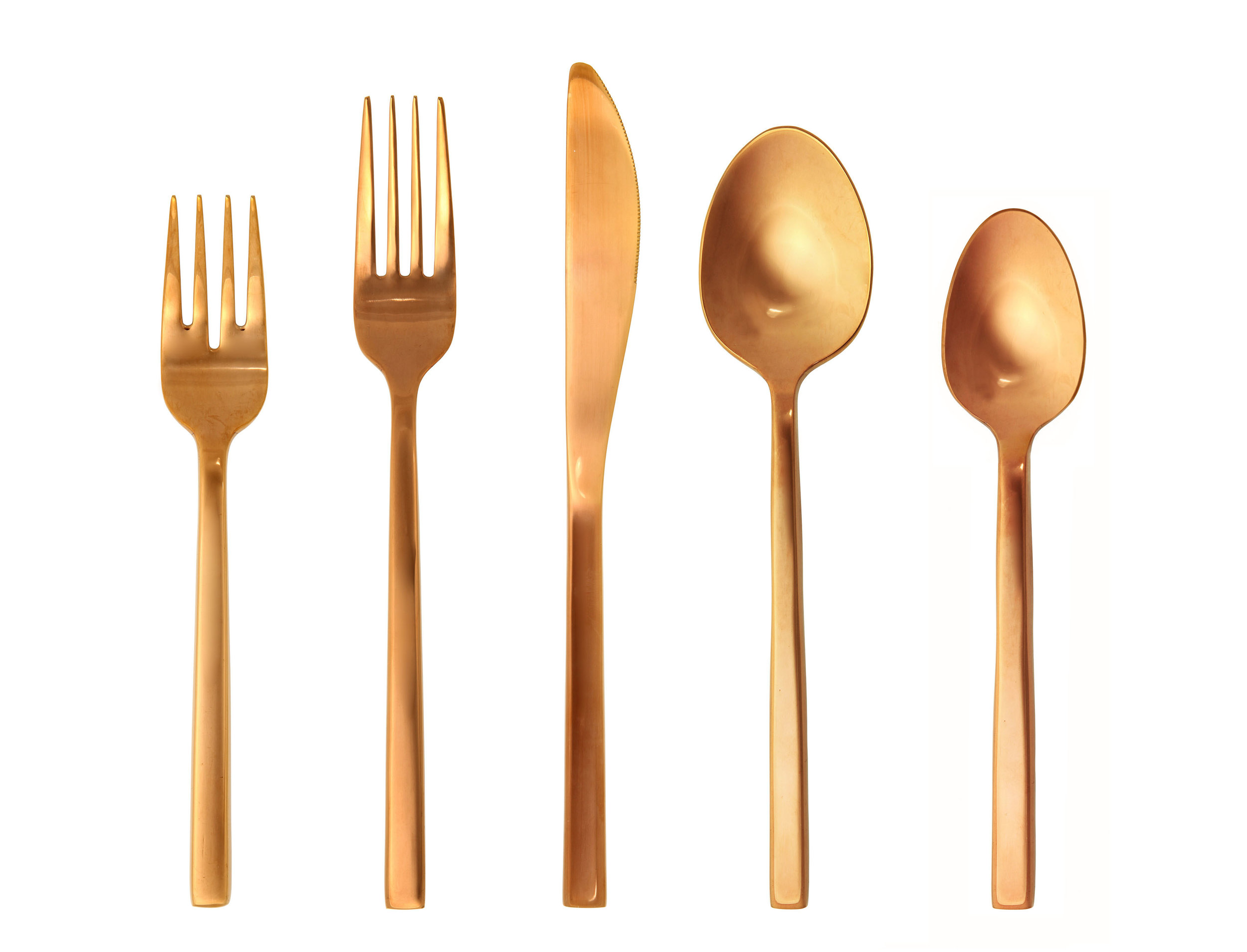 Tampa Copper Flatware Rentals
