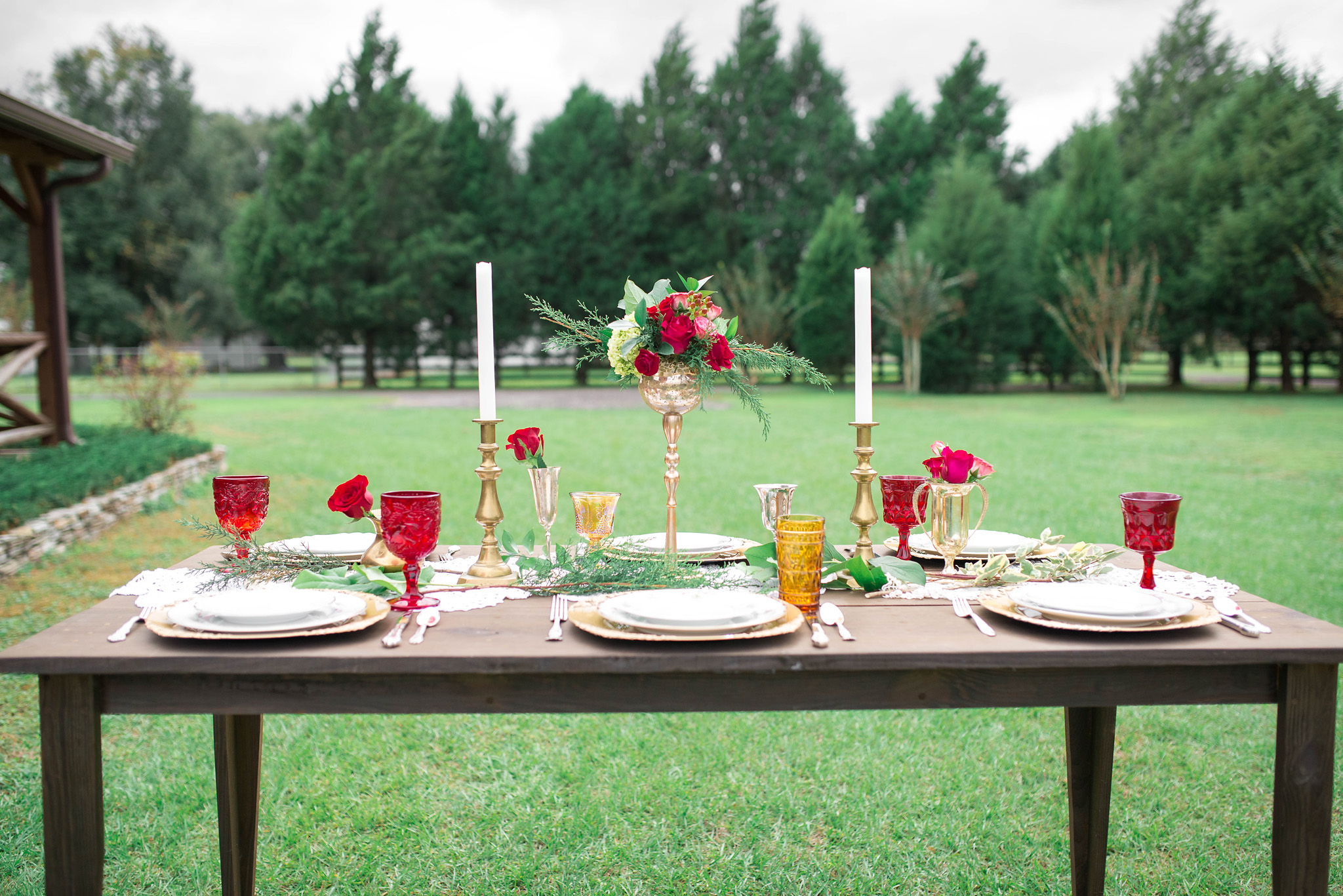 Tampa and Lakeland Farm Table Rentals