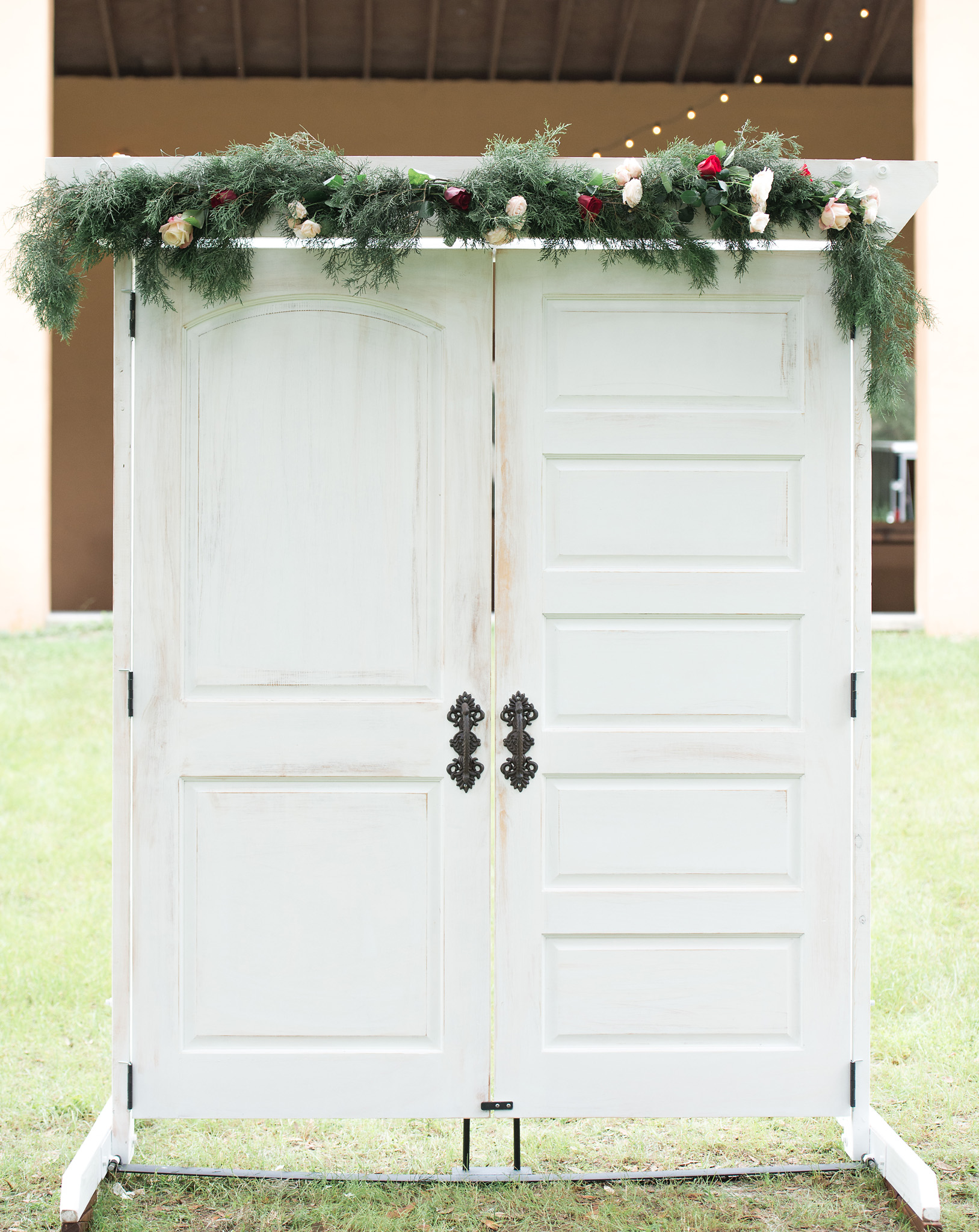 Tampa White Wedding Door Rentals