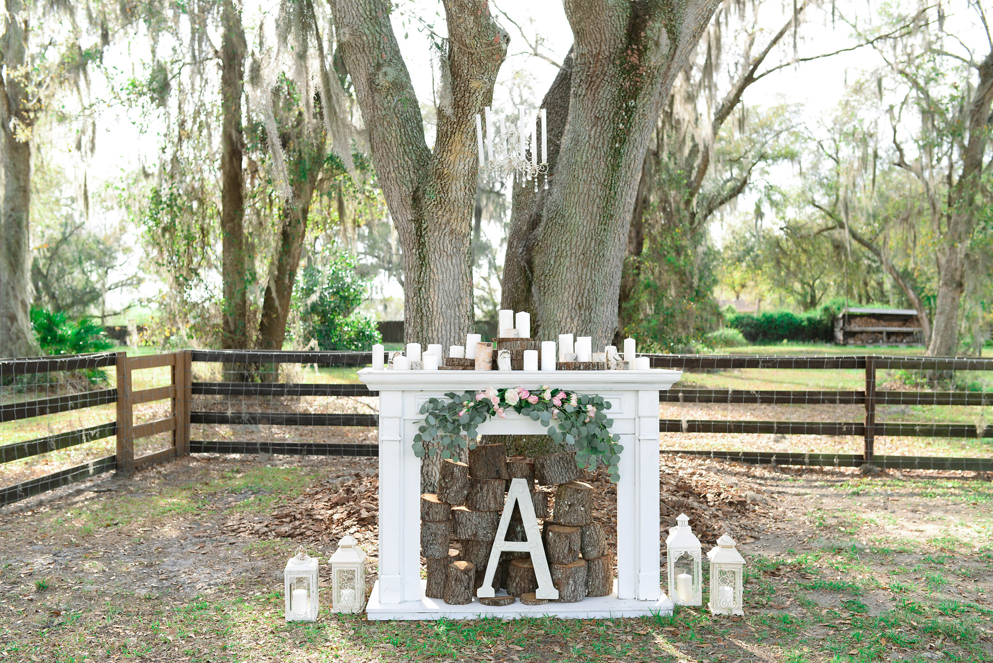 Plant City Backyard Wedding