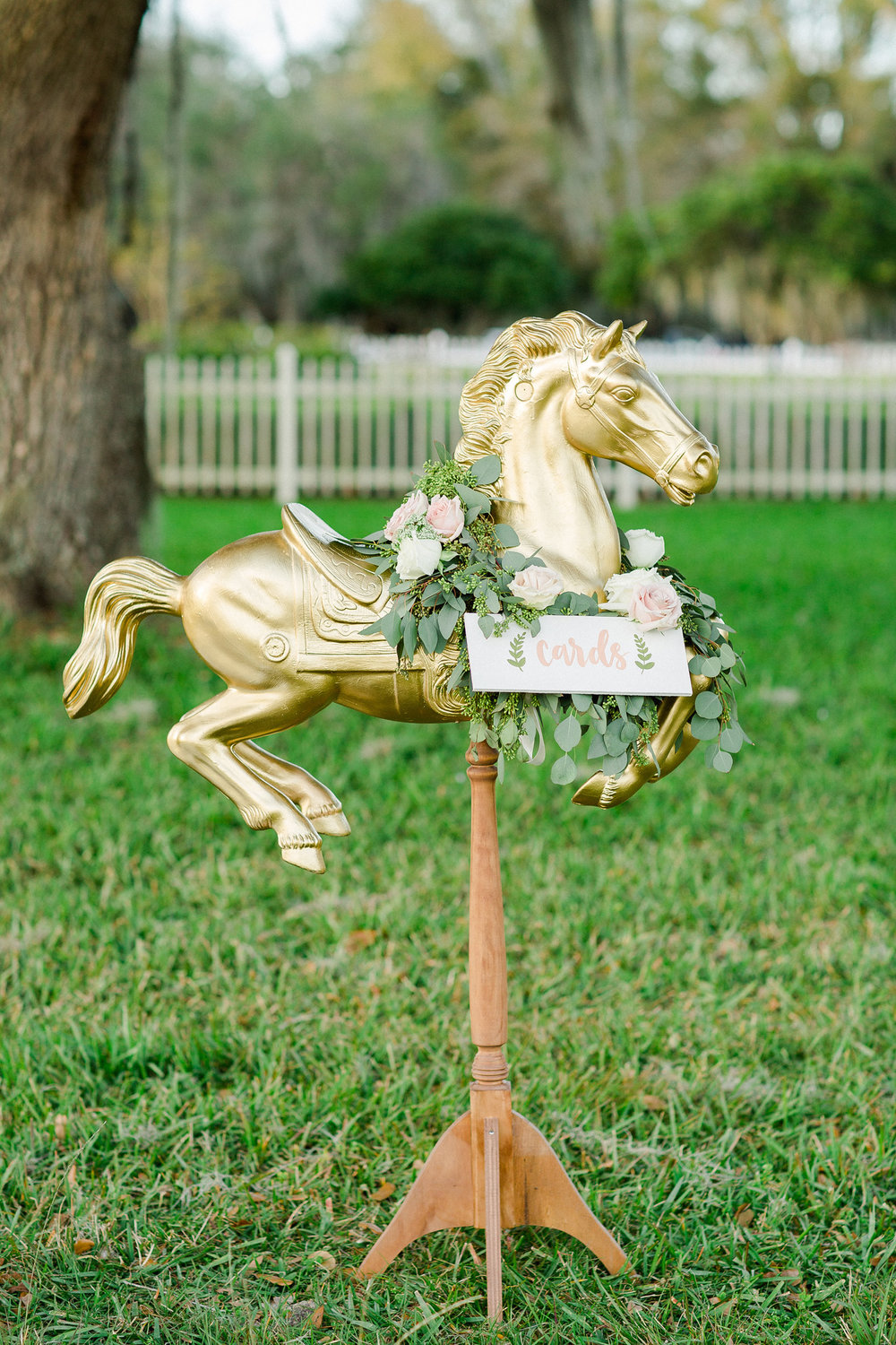 Horse Wedding Card Holder